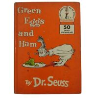 Dr Seuss Green Eggs And Ham First Edition 1960 Hardcover
