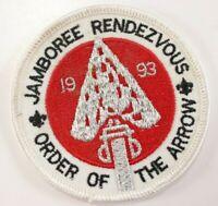 Vintage 1993 Jamboree Rendezvous WWW Order Arrow OA Boy Scout America BSA Patch