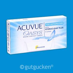 Acuvue Oasys for Astigmatism 1 x 6 torische Kontaktlinsen Wochenlinsen