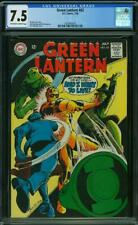 Green Lantern #62 CGC 7.5 -- 1968 -- Jack Sparling cover #1621643007
