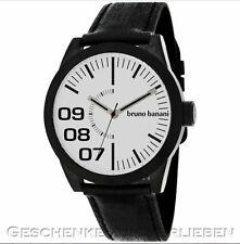 Bruno Banani reloj hombre br 26111w taras Gents evo negro acero inoxidable tg3 101 301a