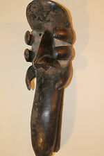 """Arts of Africa - Old Dan - Kran - Mask -Cote d' Ivoire - 26.5"""" Height x 9"""" Wide"""