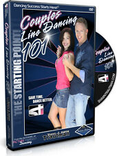 NEW! COUPLES LINE DANCING 101 DVD Trautman Beginner Dancing Lesson DVD NIB