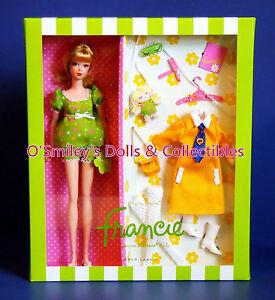 NIGHTY BRIGHTS FRANCIE GIFTSET 2011 Silkstone Gold Lbl BFC Barbie_V0457_NRFB