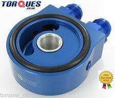 Torques Universal Oil Sandwich Plate Kit In Blue (AN-10 JIC-10) 3/4 UNF/ M20x1.5