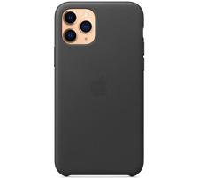 i Phone 11 Pro 5,8″ A pple Genuine Original Leather Case Cover - Black