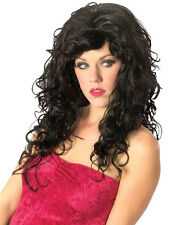 Synthetic Role play Peluca Reenactment or Crossdresser Long Costume Wig