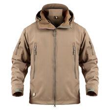 ReFire Gear Men Softshell Military Jacket Winter Waterproof Tactical Hoodie Coat
