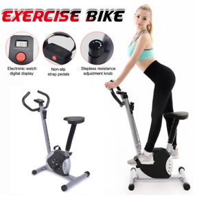 Magnetic Exercise Bike Fitness Stationary Bicycle Cardio Workout Indoor Cycling