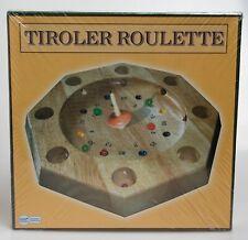 NEU in Folie: Tiroler Roulette Spiel aus Vollholz - Holz Gesellschaftsspiel