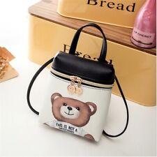 Moschino Toy Bag Women's Handbag Mobile Phone Cartoon Messenger Shoulder Leather