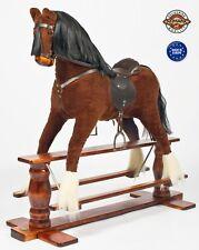 """LUXURIOUS VERY LARGE Rocking Horse """"Saturn IV""""  MJMARK !!! Rocking Toy"""