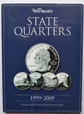 More details for usa state quarters 1999-2009 dollar full set 58 coins us america + album