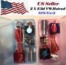 Dual V6 J-head  Hotend 1.75mm/0.4mm Nozzle Bowden Extruder Reprap 3D Printer