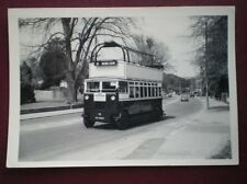 PHOTO  HASTING & DISTRICT BUS DY 4965 HAPPY HAROLD