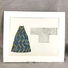 Antique Fashion Print Sephardi Jewish Embroidered Dress Historical Costume