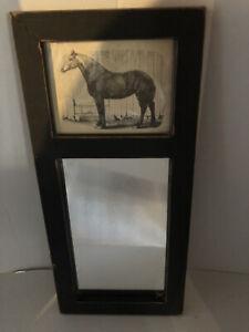 VINTAGE HORSE/MIRROR PICTURE