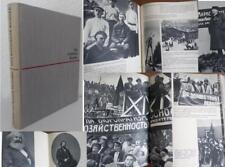 """DDR UdSSR Buch von 1962 """"Bilder Geschichte Dokumente vom werden des Kommunismus"""""""