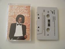 MICHAEL JACKSON OFF THE WALL CASSETTE TAPE ALBUM EPIC CBS UK 1979