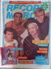 Record Mirror 09/04/83- Culture Club, Talk Talk, Danse Society, Shriekback