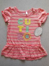 BABY TODDLER GIRL 'CUTIE' DRESS SIZE 0-1 FITS 9-12M *NEW