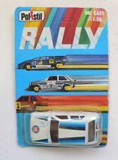Polistil Die Cast 1:55 Scale RALLY FIAT RITMO Race Car Model MOC 1970's Italy
