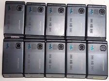 10 Lot Sony Ericcson Flip W380a Basic Small Phone Unlocked ATT Tmobile Simple