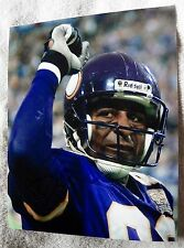 Minnesota Vikings Chris Carter Signed 8x10  Photo Auto