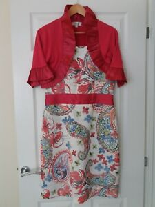 Fee g dress and cardigan size 12