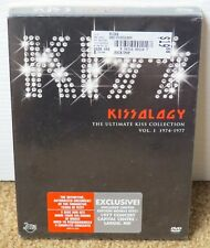 KISS KISSOLOGY I DVD + LARGO 1977 BONUS FACTORY SEALED