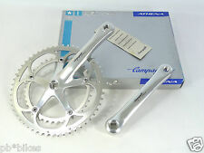 Campagnolo Crankset Athena 9 Speed 175mm 53 39 chainrings Vintage road Bike NOS