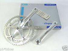 Campagnolo Crankset Athena 9 Speed 175mm 53 39 chainrings Vintage road Bike NOS