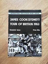 James Cook High School (Sydney) 1983 Tour De Gran Bretaña