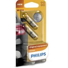 PHILIPS Vision H6W 12V 6W BAX9s Innenraumleuchte 2er Blister - 12036B2