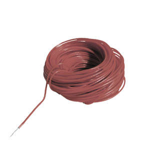 Digikeijs DCC Decoder Wire ~ 30 AWG ~ .25mm/.45mm ~ Brown ~ 10 Meters DR60361