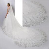 Hochzeit Brautschleier Schleier Braut weiß/creme weiß ivory 300 x 300 cm C038
