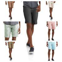 Men's Flat Front Khaki Shorts