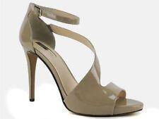 INC International Concepts Women's Suzi High Heel Platform Sandal Oatmeal 10 M
