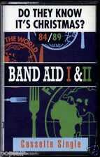 BAND AID I & II - DO THEY KNOW IT'S CHRISTMAS? 1984/1989 UK CASSINGLE 1991 RELEA