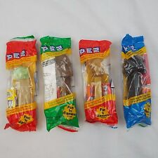 Star Wars-Pez Dispensers - Yoda, Darth Vader, Chewbacca & C3PO ***NEW***
