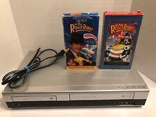 RCA Progressive Scan Dvd/Video Cd/Mp3 Player/Video Cassette Recorder + 2 Movies