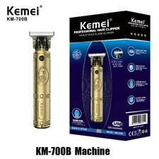 Kemei 700B Professional Hair Clipper Trimmer Shaver Adjustable Blade Barber US