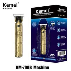 Kemei 700B Professional Hair Clipper Trimmer Shaver Adjustable Blade Barber US