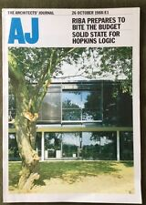 Architects Journal 26Oct 88 Lord North St Hospital Euston Station, Hopkins Logic