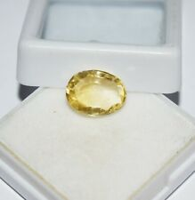 Impressive 3.75 Cts Best Quality! Natural Yellow Sapphire Oval Shape Gemstone