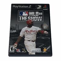 MLB 08: The Show PlayStation 2 PS2 Complete w/Manual CIB Tested Works
