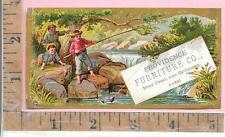 PROVIDENCE FURNITURE CO BOYS FISHING YANKEE NOTION PRINTING CO RHODE ISLAND 0756