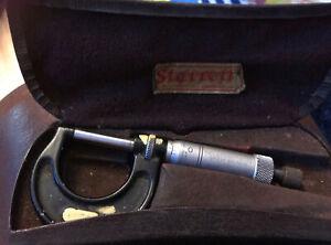starrett micrometer No 436-1 in Box