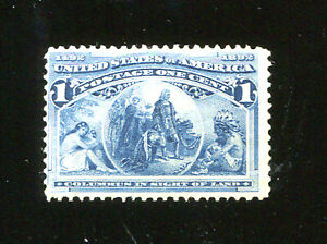 U S STAMPS  SC230 COLUMBUS IN SIGHT OF LAND   1C BLUE (D273) MNH