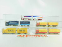 BO746-0,5# 5x Wiking H0/1:87 Lastzug MB: 456+455 Gilde+459/1 Baur+571, NEUW+OVP